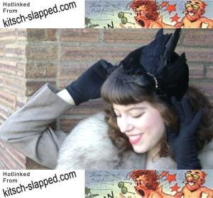 solanah-wearing-black-bird-hat