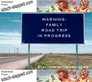 family-road-trip-warning-sign