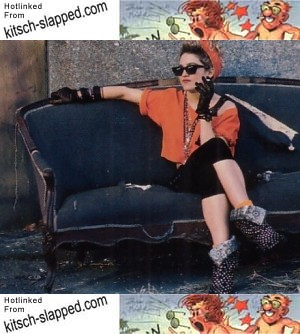 Desperately Seeking 80's Madonna Fashions? | Kitsch-Slapped