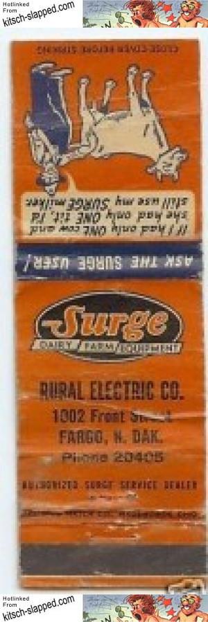 vintage-surge-advertising-matchbook-fargo-nd