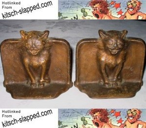1925-snead-co-cast-iron-gothic-cat-art-bookends