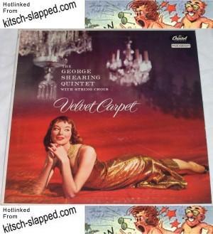 George Shearing Quintet Velvet Carpet  Capitol T720 dougan 1956