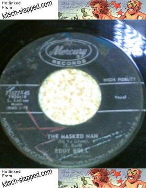 masked man 45 rpm