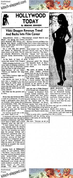 vikki dougan corpus christi times march 29 1957
