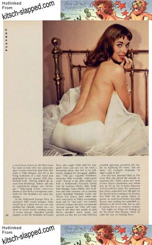 vikki dougan playboy june 1957 article