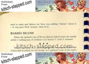 vintage shanty irish baked beans