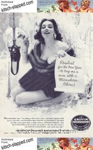 new years vintage shoe polish ad