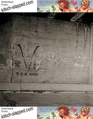 1950s graffiti
