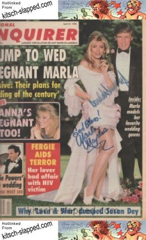 national enquirer trump pregnant maples