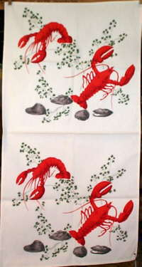 vintage-lobster-print-towel