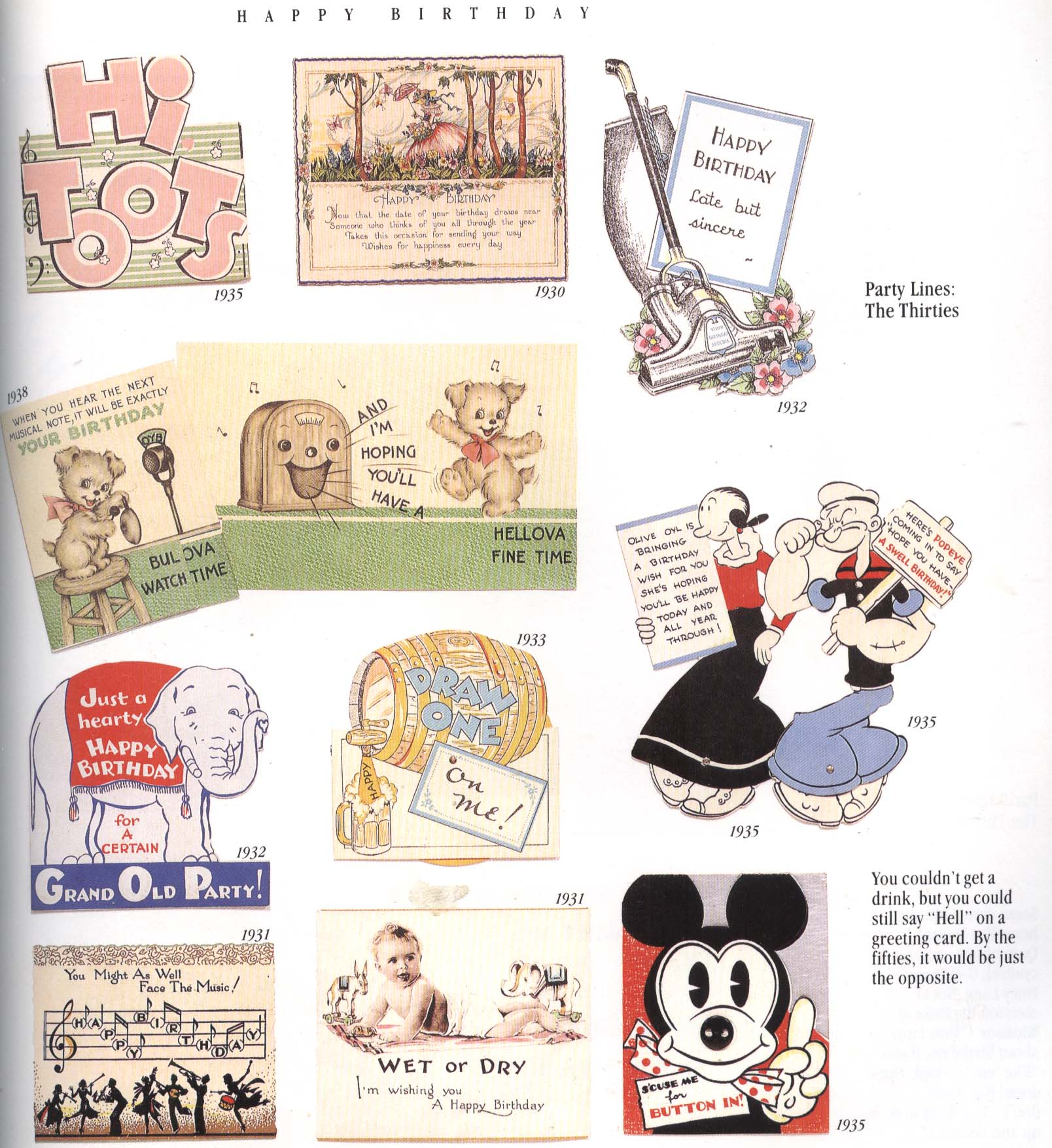 The Very Best From Hallmark Greeting Cards Through The Years – Maxine Birthday Greetings