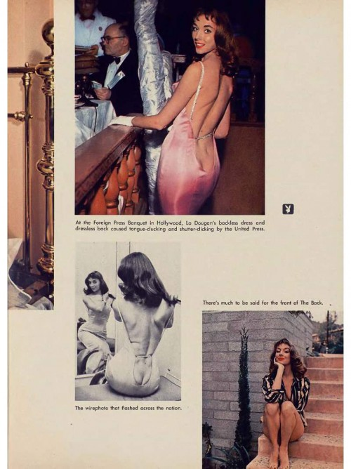 dougan wirephoto pictorial in playboy