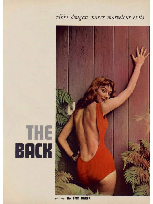 vikki dougan in playboy by sam baker