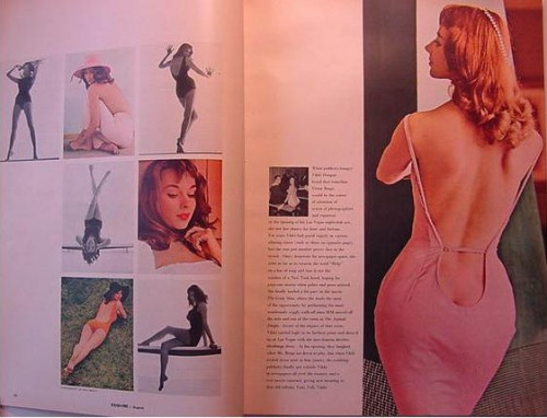 vikkie dougan in esquire 1957