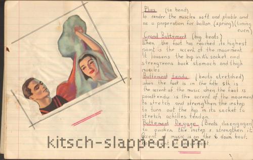 Kathy Keeton's Ballet Notebook Journal