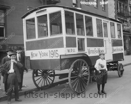 Women's Suffrage Wagon 1915