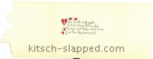 little suffragette valentine