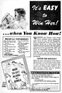 How to Get Along With Girls vintage ad
